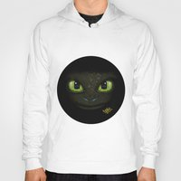 how to train your dragon Hoodies featuring Toothless - How to Train Your Dragon 2 by RayyanKhan