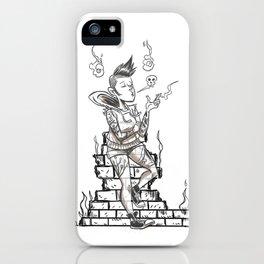 Ghost Punk iPhone Case