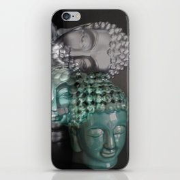 Scattered Buddhas iPhone Skin