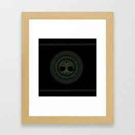 Celtic Tree Of Life Framed Art Print