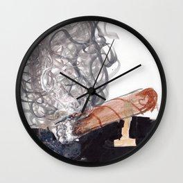 Drop of Ash Wall Clock