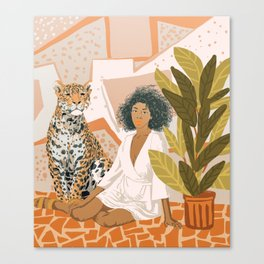 House Guest Canvas Print