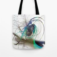 emerald Tote Bags featuring Emerald by haroulita