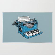 The Composition - Original Colors. Rug