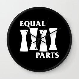 Equal Parts Wall Clock