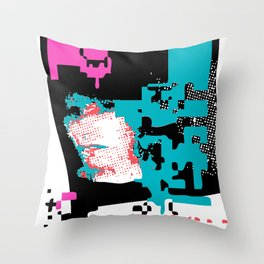 Breaking Up – Lost in Time Throw Pillow