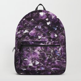Amethyst Crystal Photography Backpack