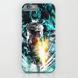 Super Saiyan blue iPhone Case