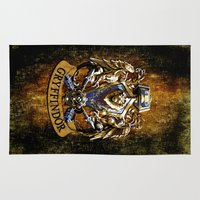 ravenclaw Area & Throw Rugs featuring Gryffindor and ravenclaw United team iPhone 4 4s 5 5c, ipod, ipad, pillow case, tshirt and mugs by Three Second