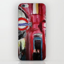 London Underground Covent Garden iPhone Skin