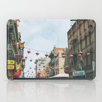 san francisco iPad Cases featuring San Francisco  by Sarah Ann Loreth