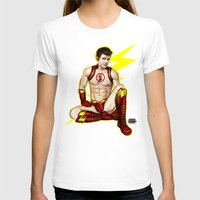 the flash T-shirts featuring Flash by Steven H. Garcia