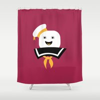 ghostbusters Shower Curtains featuring Ghostbusters by FilmsQuiz