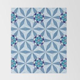 Persian Tile 01 Throw Blanket