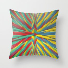 Spiked Perspective Throw Pillow