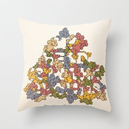 My Head Is In The Clouds #1 Throw Pillow