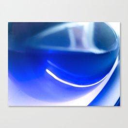 happy glass Canvas Print