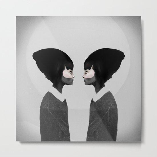 A Reflection Metal Print