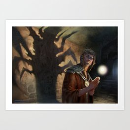 MTG False Prophet Art Print