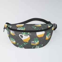 Modern Potted House Plant Fanny Pack