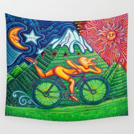 Bicycle Day Wall Tapestry
