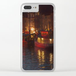 Nyhavn - Copenhagen Clear iPhone Case