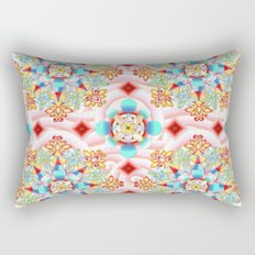 Cosmic Waves Kimono Rectangular Pillow