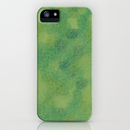 Cracked Greens iPhone Case