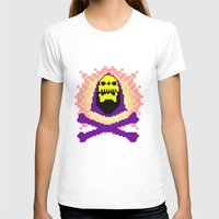 skeletor T-shirts featuring Skeletor Pixeletor by Yildiray Atas