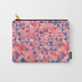 colorful Triangles 1 Carry-All Pouch