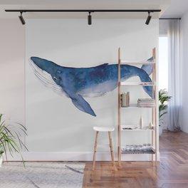 Whale  art Wall Mural