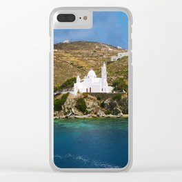 Ios,Kyklades,Greece. Clear iPhone Case