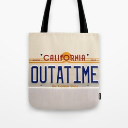 California Out A Time Tote Bag