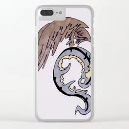 Dragon Circle Clear iPhone Case