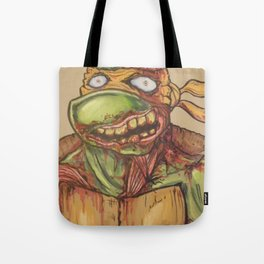 zombie ninja turtle Tote Bag