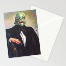 Portrait of Monsieur Gills Stationery Cards