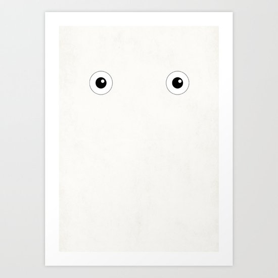 Studio Ghibli - Chibi Totoro (Chuu) Art Print