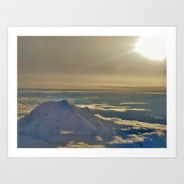 At the Top of Denali Art Print