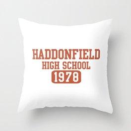 HADDONFIELD HIGH SCHOOL 1978 Throw Pillow