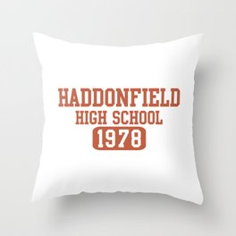 HADDONFIELD HIGH SCHOOL 1978 Throw Pillow