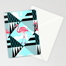 flamingo all days Stationery Cards