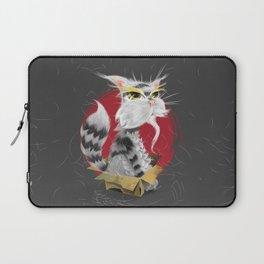 PAW MEI - The Wise Cat Laptop Sleeve