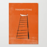 trainspotting Canvas Prints featuring Trainspotting by TwO Owls