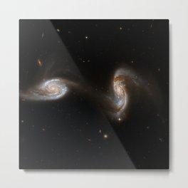Hubble Space Telescope - Interacting Galaxies NGC 5257, NGC 5258 (2008) Metal Print