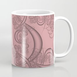 Blush Fractal Coffee Mug