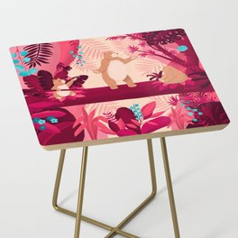 Dancing with the bears Side Table