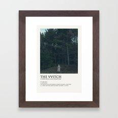The VVitch Framed Art Print