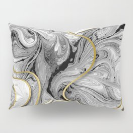 Golden lines #2 Pillow Sham