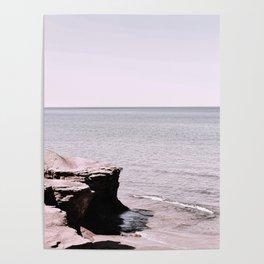 Beach Pink Poster