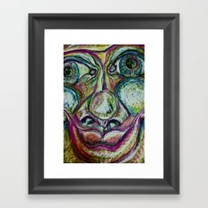 Finite Framed Art Print